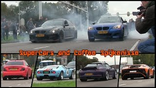 Spijkenisse Netherlands  city photos : SuperCars and Coffee Spijkenisse | Aventador SV, Ford GT, 991 GT3 RS and much more! | LOUD SOUNDS!