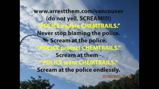 POLICE LOVE CHEMTRAILS