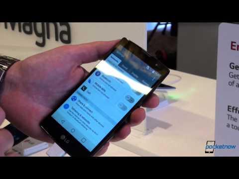 LG Magna MWC 2015 first impressions