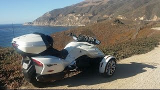 10. PART 1 of 3 - 2017 F3 Limited Can Am Spyder Review - 10 day Roadtest