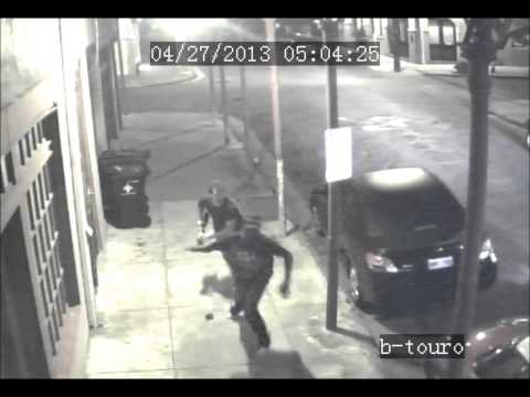 WATCH: Intended robbery victim turns the tables grabbing the shotgun pointed at him