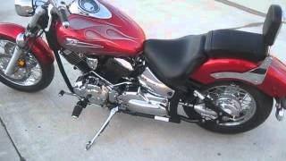 6. 2006 YAMAHA V-STAR 1100 CLASSIC $3000 FOR SALE WWW.RACERSEDGE411.COM