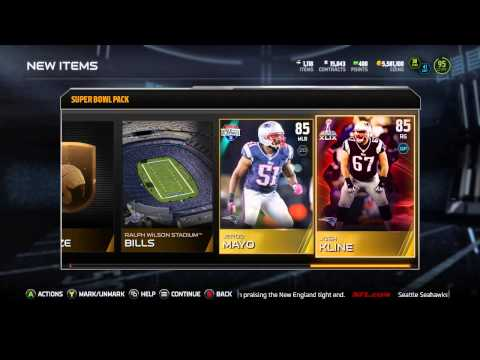 bowl - Madden 15 Ultimate Team Pack Opening! New Super Bowl players are here, but is the Super Bowl pack worth 50K to open? Subscribe for more Madden 15 Online Ranked Match Gameplays, Madden ...