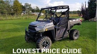 9. 2018 Polaris Ranger 1000 XP Lowest Price Guide