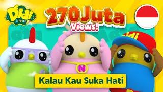 Lagu Anak-Anak Indonesia | Didi & Friends | Kalau Kau Suka Hati Video