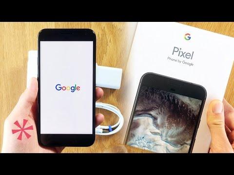 Google Pixel Unboxing
