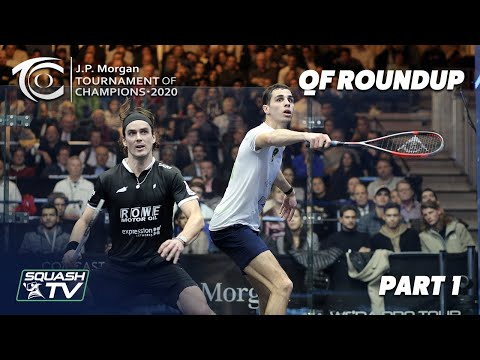 Squash: J.P Morgan Tournament of Champions 2020 - Men's QF Roundup [Pt.1]