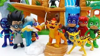 Video The Lion Guard Friends It's PJ Masks Villains~! Defend the Pride Lands MP3, 3GP, MP4, WEBM, AVI, FLV Oktober 2018