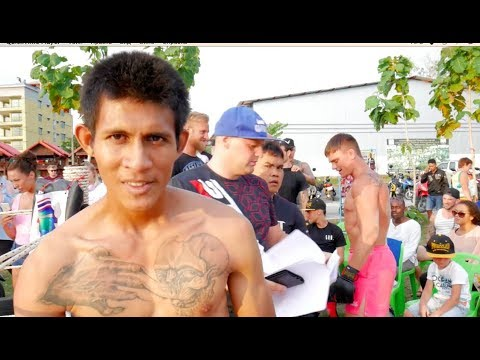 THAI DIABLO vs MMA Fighter !!!!