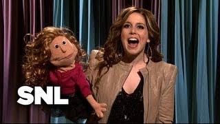 Miley Cyrus Show: Katie Holmes - Saturday Night Live