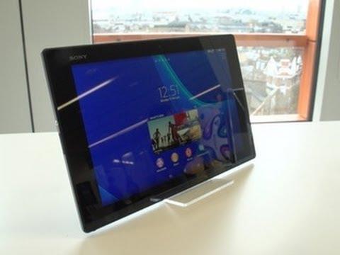 Sony Xperia Z2 Tablet is a 10-inch, super-skinny, waterproof slate