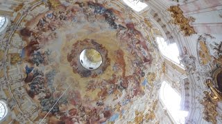 Ettal Germany  city pictures gallery : The Elaborate, Fresco'd Ettal Abbey/Kloster in Bavaria, Germany