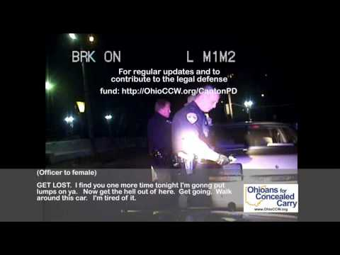 "Dash Cam: Canton PD ""Notification"" Arrest & Officer Goes Berserk / Threatens"
