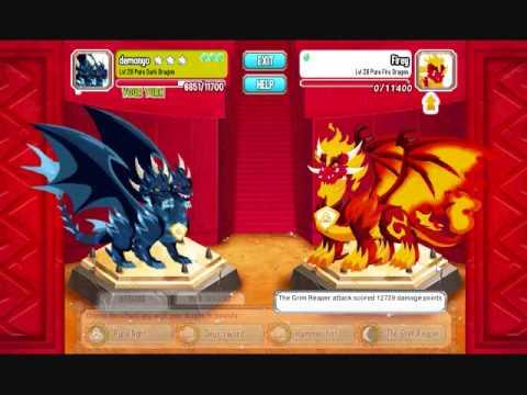 como fazer o dragao puro no dragon city
