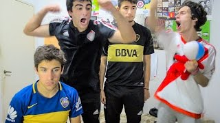 Video Estudiantes vs Boca y River vs Temperley | Torneo Argentino 2017 | Reacciones de amigos MP3, 3GP, MP4, WEBM, AVI, FLV November 2017