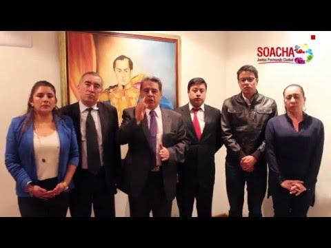 Respuesta de Soacha al presidente Juan Manuel Santos