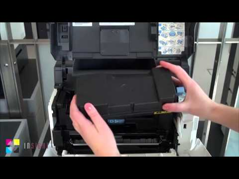Kyocera How to: Replace Toner - FS 2100dn, 4100dn, 4200dn & 4300dn