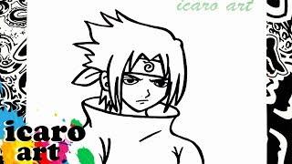 Hola amigos en el video de hoy dibujaremos a sasuke de naruto, espero les guste este video y les sirva a la hora de ir a dibujarlo, no olvides compartirlo y suscribite, abajo te dejo los links de mis redes sociales:facebook: https://www.facebook.com/pages/Icaro_art/1518273038440972instagram: http://instagram.com/icaro_art/