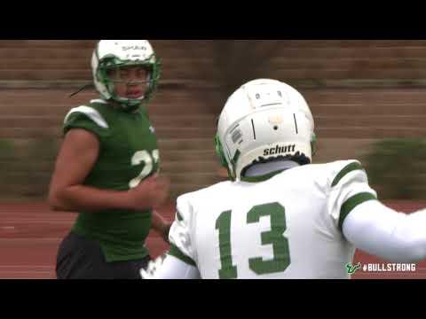 USF Football: Birmingham Bowl 2017 - 2nd Practice Report (видео)
