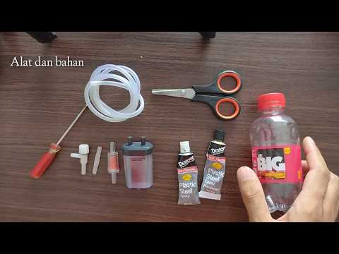 Membuat tabung CO2 aquascape sederhana ragul (ragi + gula) DIY | Yeast and Sugar