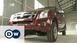 Ghanaian inventor Apostle Kwadwo Safo has opened up a factory which produces SUVs and pickups