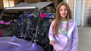 4. INSANE 8 Year Old GIRL on her Polaris RZR 170