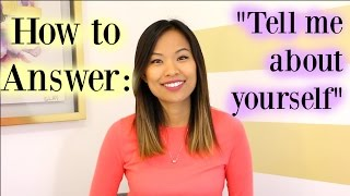Video Tell Me About Yourself - A Good Answer to This Interview Question MP3, 3GP, MP4, WEBM, AVI, FLV Juni 2018