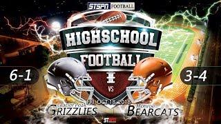 FOOTBALL: Bearcats at Grizzlies