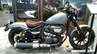 8. 2014 Yamaha Bolt R-Spec Performance Walkaround - 2013 New York Motorcycle Show