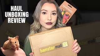 MINI HAMSTER HAUL/UNBOXING + Review! by Emma Lynne Sampson