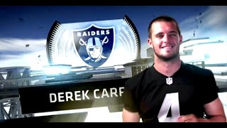 Derek Carr Ultimate Rookie Highlights: ReinCARRNation