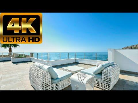 1800000€ Новая вилла на 1 линии моря/Недвижимость в Испании на Коста Бланка/Дом в Кальпе/Hi-Tech