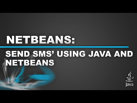 How to Send SMS' Using Java and Netbeans