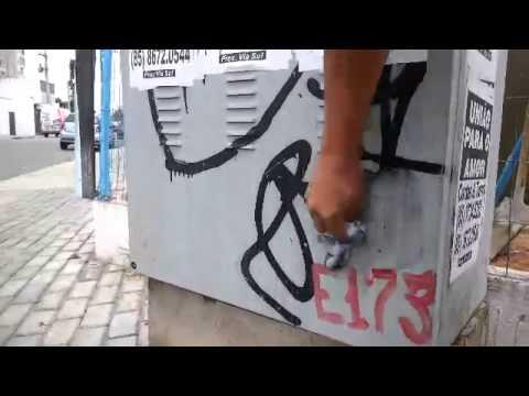 DELETA - Como tirar pichação - Cidade limpa