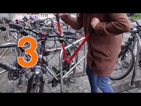 Fahrradschloss TiGr Lock: Sperr-Müll