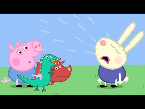 Peppa Pig Full Episodes |George and Richard Rabbit #84