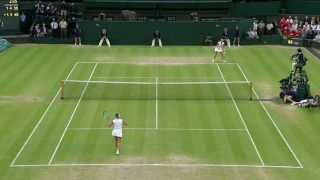 Tennis Highlights, Video - 2013 Day 8 Highlights: Petra Kvitova v Kirsten Flipkens