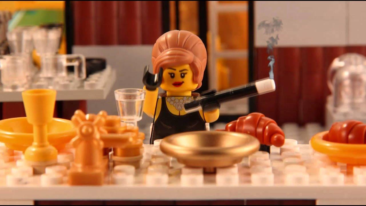 Superbekannte Filmszenen in Lego nachgespielt