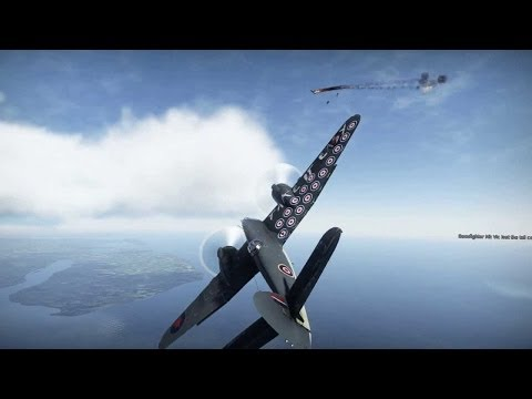 War Thunder: The Power Of Beaufighter Mk X!