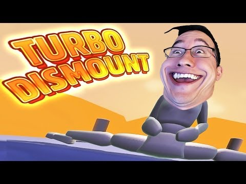 Turbo Dismount | FUNNIEST FACE EVER