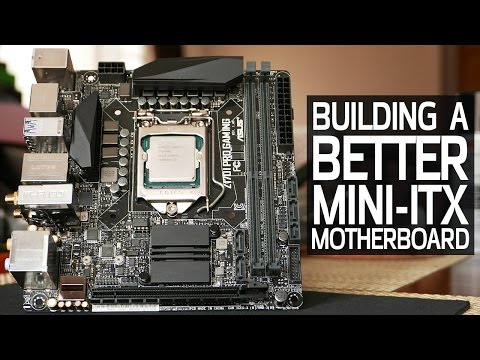 Modding the Perfect Mini-ITX Z170 Motherboard