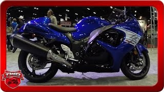 7. 2017 Suzuki Hayabusa Motorcycle Walkaround AIMExpo 2016