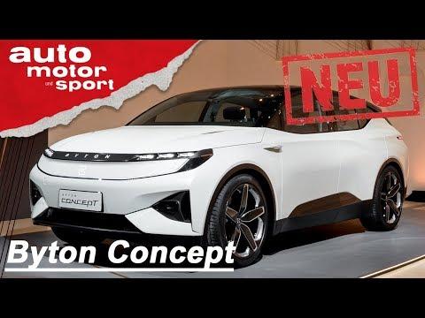 Byton Concept (2018): Tesla adé?! - Neuvorstellung/ ...