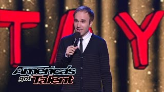 Taylor Williamson: Runner-Up Comedian From Season 8 Returns - America's Got Talent 2014