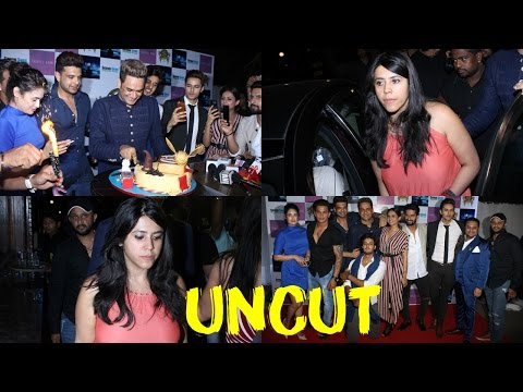 UNCUT: Ekta Kapoor & Many TV Celebs At Red Carpet Birthday Celebration Of Producer Vikas Gupta
