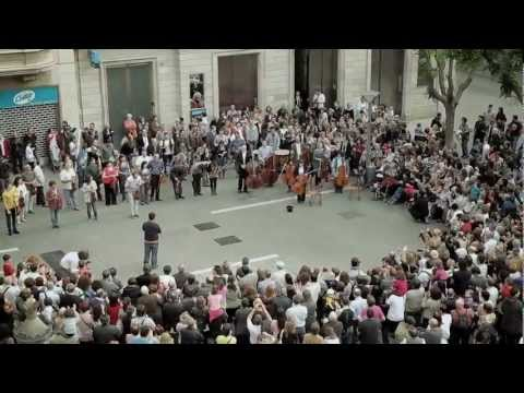 flash mob - Flashmob Flash Mob - Ode an die Freude ( Ode to Joy ) Beethoven Symphony No.9 classical music.