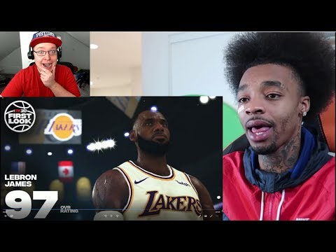 Reacting To FlightReacts Reacting To NBA 2K20 Player Ratings