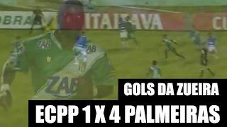 Gols da Zueira do Partiu Conquista - ECPP x Palmeiras