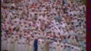 الشيخ علي جابر رحمه الله في صلاة التهجد بالحرم المكي 1402