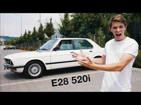 Megvettem az ÁLOMAUTÓMAT! - BMW E28 520i